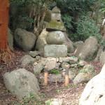細川幽斎候の五輪塔