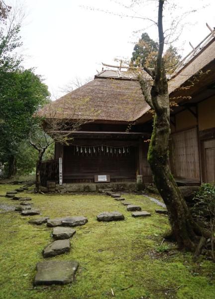 英彦山財蔵坊-庭