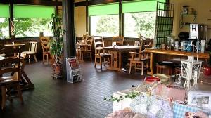 Cafe de ANGELICA 店内