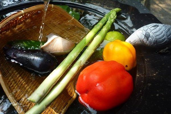 味美処よしずや 野菜