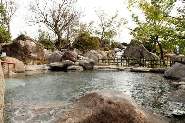 天然温泉さくら館 露天