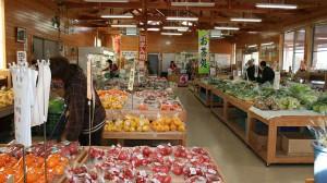 川崎町農産物直売所 「De・愛」 店内