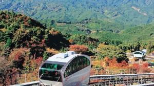 英彦山花公園(スロープカー)