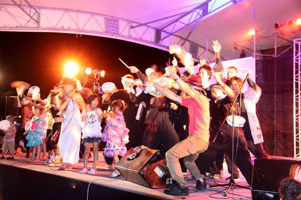 桜街道夏祭りステージ