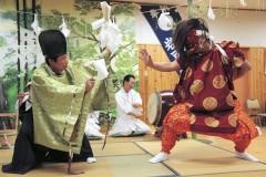 大内田岩戸神楽