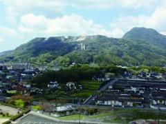 香春岳山頂見学