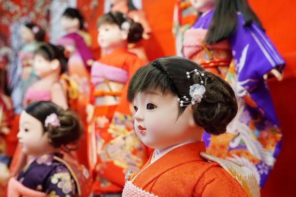 田川市 市松人形