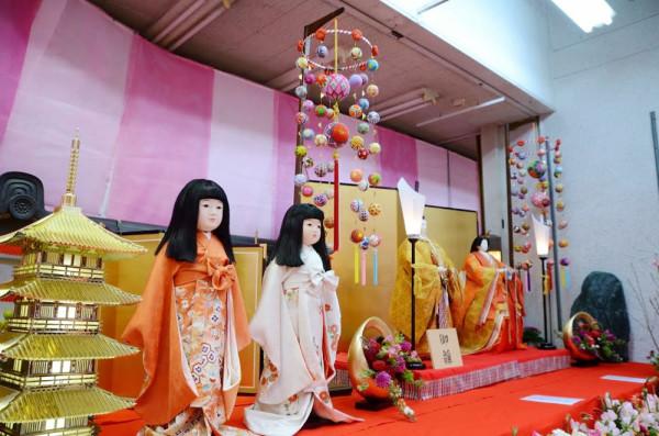 田川市 ひな祭り 立ち雛