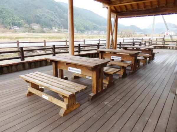英彦山-歓遊舎 ベンチ