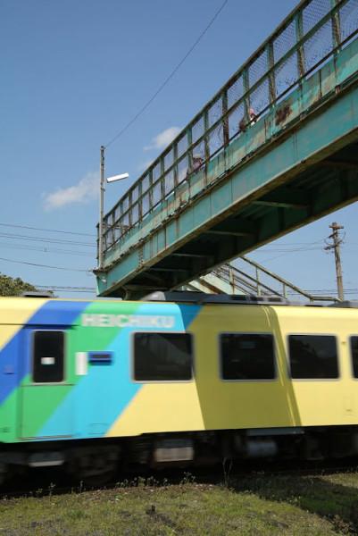 へいちく なかいずみ駅 デジカメ講座 鉄道