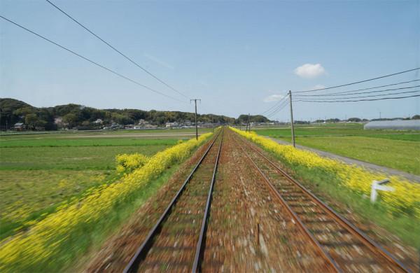 平成筑豊鉄道 車窓 写真